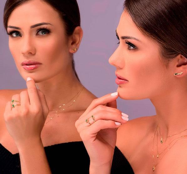 nova linha de joias da coleção donna
